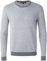 Michael Kors crew neck jumper - men - Cotton - S
