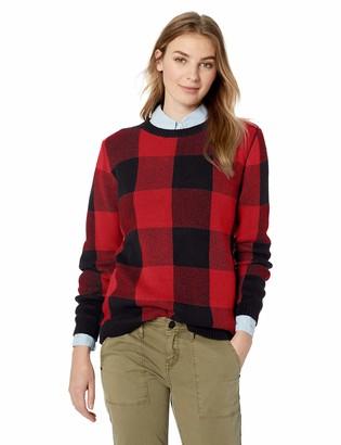 Pendleton Women's Plaid Cotton Pullover Sweater
