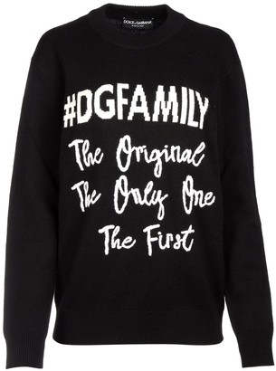 Dolce & Gabbana Family Knitted Sweater