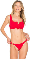 Beach Bunny Rib Tide Top in Red. - size M (also in )