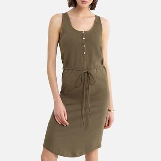 La Redoute Collections Cotton Sleeveless Dress