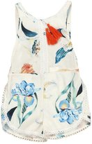 Baby Summer Jumpsuit, Doinshop Girl Floral Pattern Sleeveless Romper Outfits
