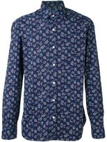 Barba floral print shirt - men - Cotton - 41