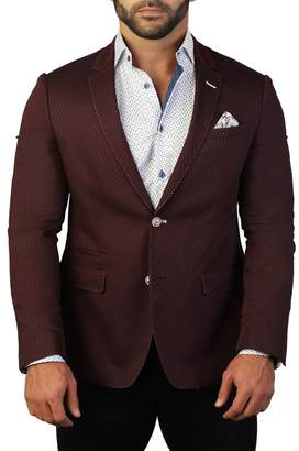 Maceoo Socrate Tonal Two Button Tailored Fit Suit Separate Blazer