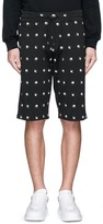 McQ by Alexander McQueen Swallow intarsia sweat shorts