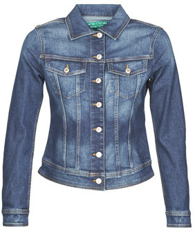 Benetton women's Denim jacket in Blue