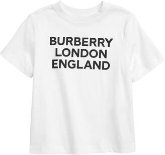 Burberry Logo Cotton Graphic Tee