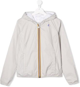 K Way Kids TEEN reversible hooded jacket