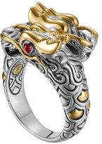 John Hardy Batu Naga Gold/Silver Dragon Ring