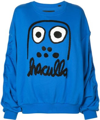 Haculla Monster print sweatshirt
