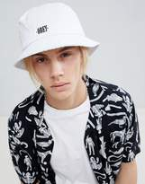 Obey Respect Bucket Hat In White