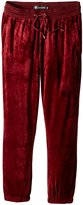 Akademiks Men's Big-Tall Velour Sweatpant