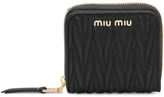 Miu Miu Zipped Bi-Fold Wallet