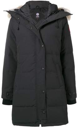 Canada Goose hooded mid-length coat
