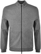 HUGO BOSS Black Soule 06 Full Zip Sweatshirt Grey