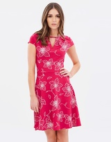 Dorothy Perkins Floral Split Arm Dress