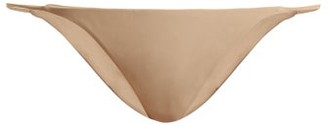 JADE SWIM Bare Minimum Thin Side Bikini Briefs - Nude