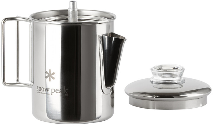 Thumbnail for your product : Snow Peak Silver Stainless Coffee Percolator, 30.4 fl oz