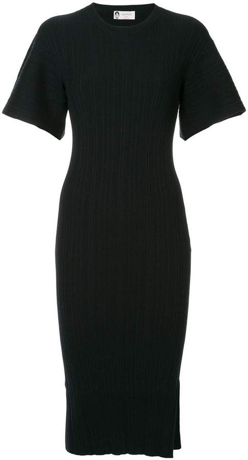 Lanvin bell sleeve midi dress
