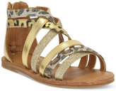 Nina Girls' or Little Girls' or Toddler Girls' Honey Gladiator Sandals