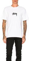 Stussy Stock Tee in White. - size XL (also in )