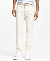Brooks Brothers Clark Fit Supima® Cotton Poplin Pants