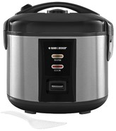 Black & Decker BLACK+DECKER BLACK + DECKER Rice Cooker - Stainless Steel