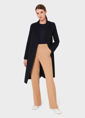 Hobbs Camille Double Face Wool Blend Wrap Coat