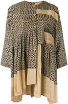 Uma Wang - mosaic print tunic - women - Cotton - L