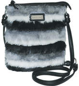 Adrienne Landau Faux Fur Crossbody (Women's)