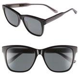 Bottega Veneta Women's 55Mm Sunglasses - Black/ Grey/ Smoke