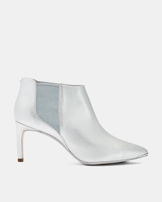 Ted Baker Leather Pointed Ankle Boots