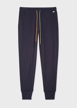 Paul Smith Men's Navy Cotton Jersey Lounge Pants