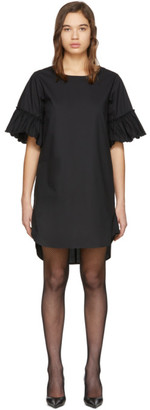 See by Chloe Black Flared Sleeve Dress