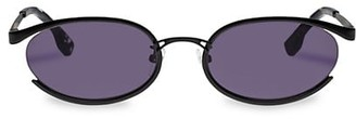 Le Specs Luxe Tres Solo 56MM Oval Sunglasses
