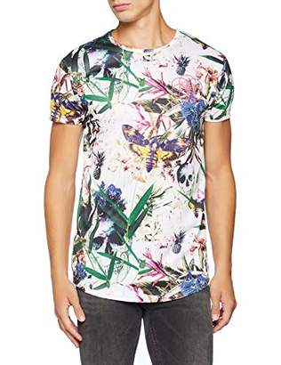 Scartissue Scar Tissue Men's Tropical Skull T-Shirt,Large (Size:L)