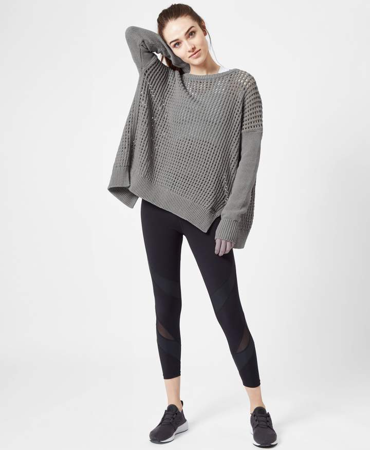 Sweaty Betty Luxe Amity Knitted Sweater