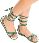 Max Studio Jack: Strappy Wrap-Up Sandals