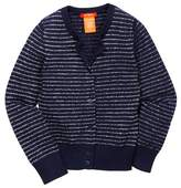 Joe Fresh Stripe Cardigan (Toddler & Little Girls)