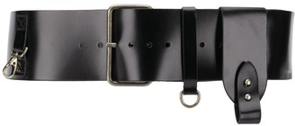 Ann Demeulemeester Wide Adjustable Belt