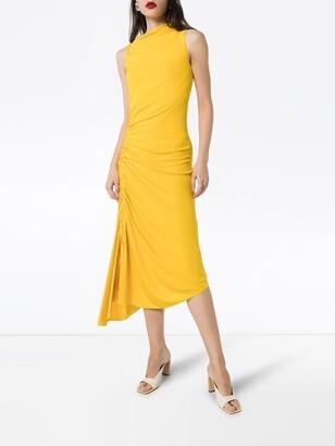 Sies Marjan Fontana ruched midi dress