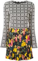 Fausto Puglisi pleated mini dress - women - Silk/Spandex/Elastane/Acetate/Viscose - 42