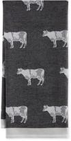 Williams-Sonoma Jacquard Animal Towel, Cow