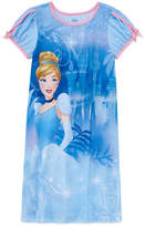 Disney Long Sleeve Cinderella Nightshirt-Big Kid Girls