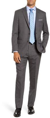 Hart Schaffner Marx Classic Fit Dot Wool Suit