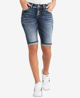 Silver Jeans Co. Suki Bermuda Denim Shorts