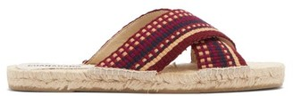 Guanabana - Woven Crossover Strap Sandals - Mens - Multi