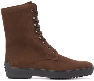 Tod's Lace-Up Hiking Boots