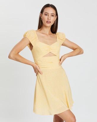 Bec & Bridge Butter Daisy Mini Dress