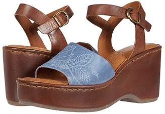 Børn Moapa (Light Blue/Brown) Women's Shoes